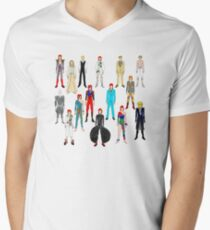 Bowie Scattered Fashion T-Shirt