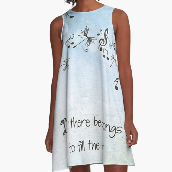 Grateful Dead - Let Their Be Songs to Fill the Air A-Line Dress