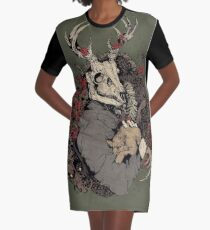The Dragon's Daughter  Graphic T-Shirt Dress