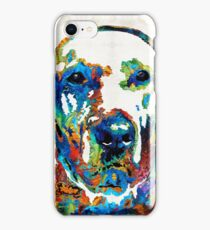 Labrador Retriever Art - Play With Me - By Sharon Cummings iPhone Case/Skin