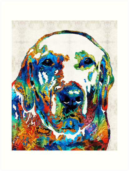 """Labrador Retriever Art - Play With Me - By Sharon ..."