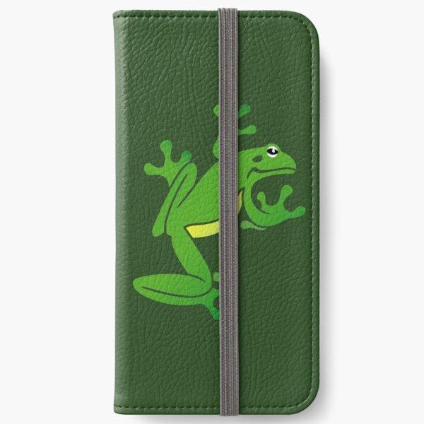 Green Tree Frog. Iconic Australian Animal. iPhone Wallet