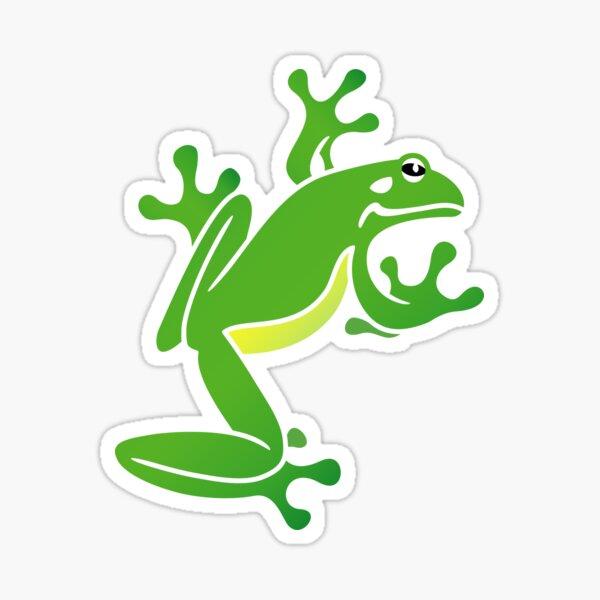 Green Tree Frog. Iconic Australian Animal. Sticker