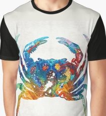 Colorful Crab Art By Sharon Cummings Graphic T-Shirt