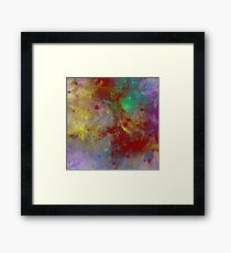 Through The Haze Of Colour Framed Print