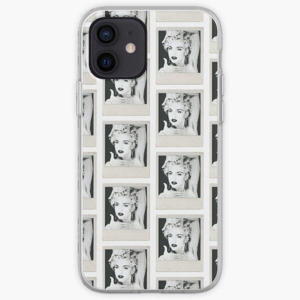 Madonna Voguing Polaroid Coque souple iPhone