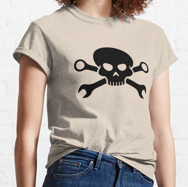 Skull 'n' Tools - Screw Pirate 1 (black) Classic T-Shirt