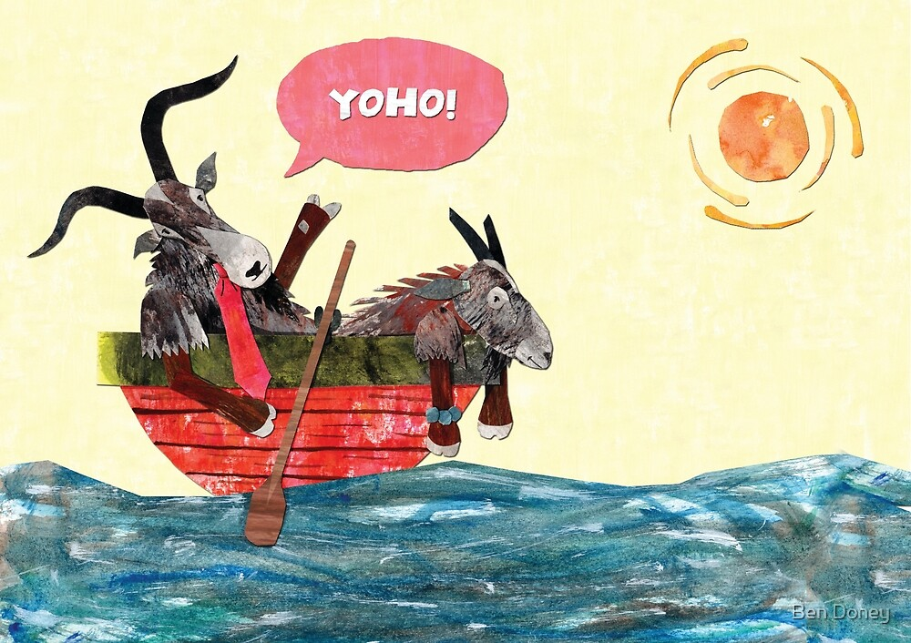Goats in a Boat by Ben Doney
