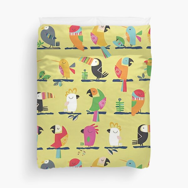 Everybirdy Pattern Duvet Cover