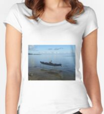 Boat on Stilts Women's Fitted Scoop T-Shirt