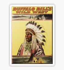 Buffalo Bill's Wild West Show Sticker