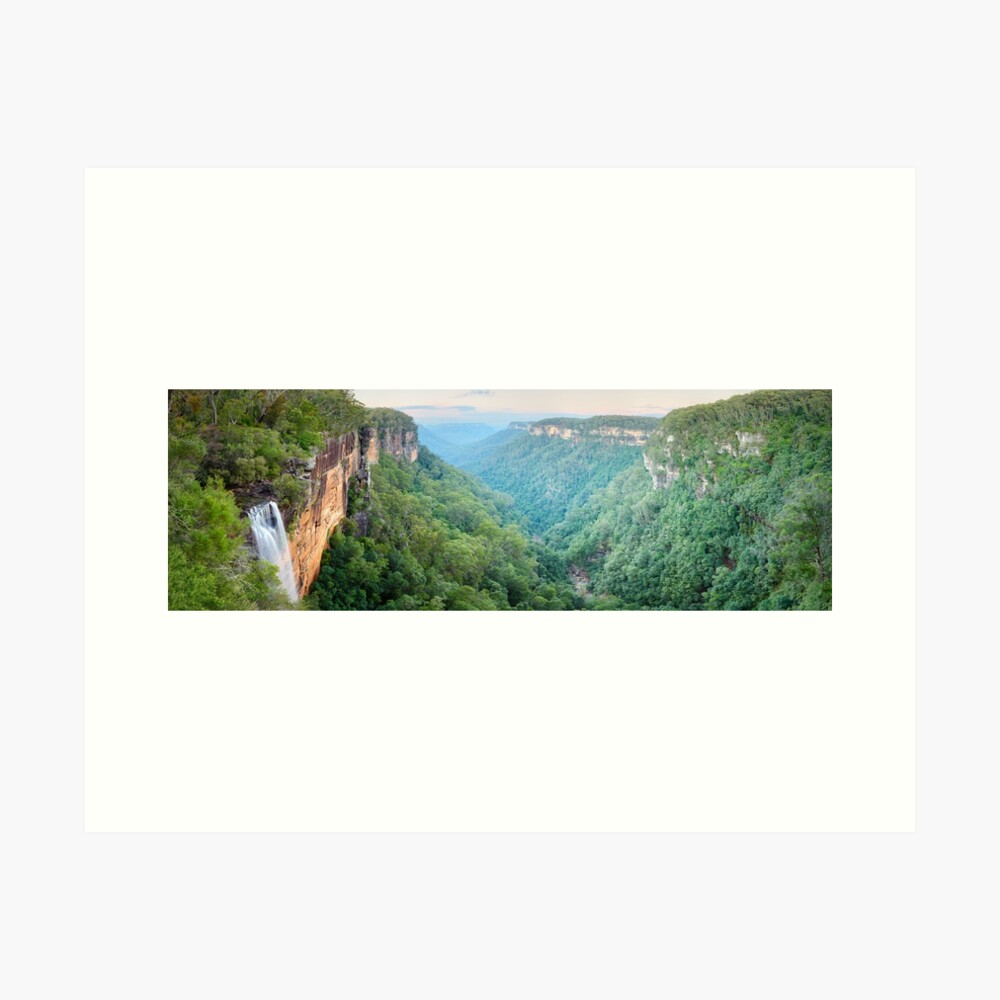 Fitzroy Falls, Morton National Park, New South Wales, Australia Art Print