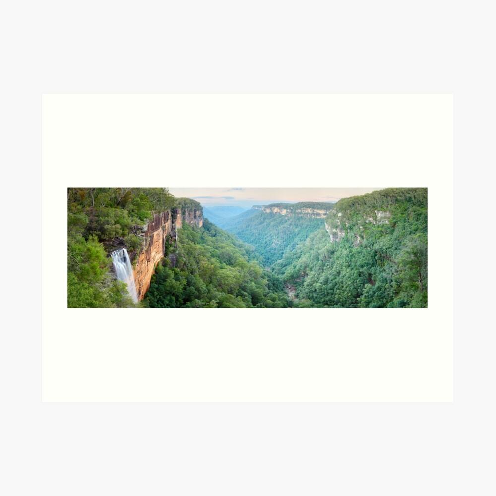 Fitzroy Falls, Morton National Park, New South Wales, Australia Art Print