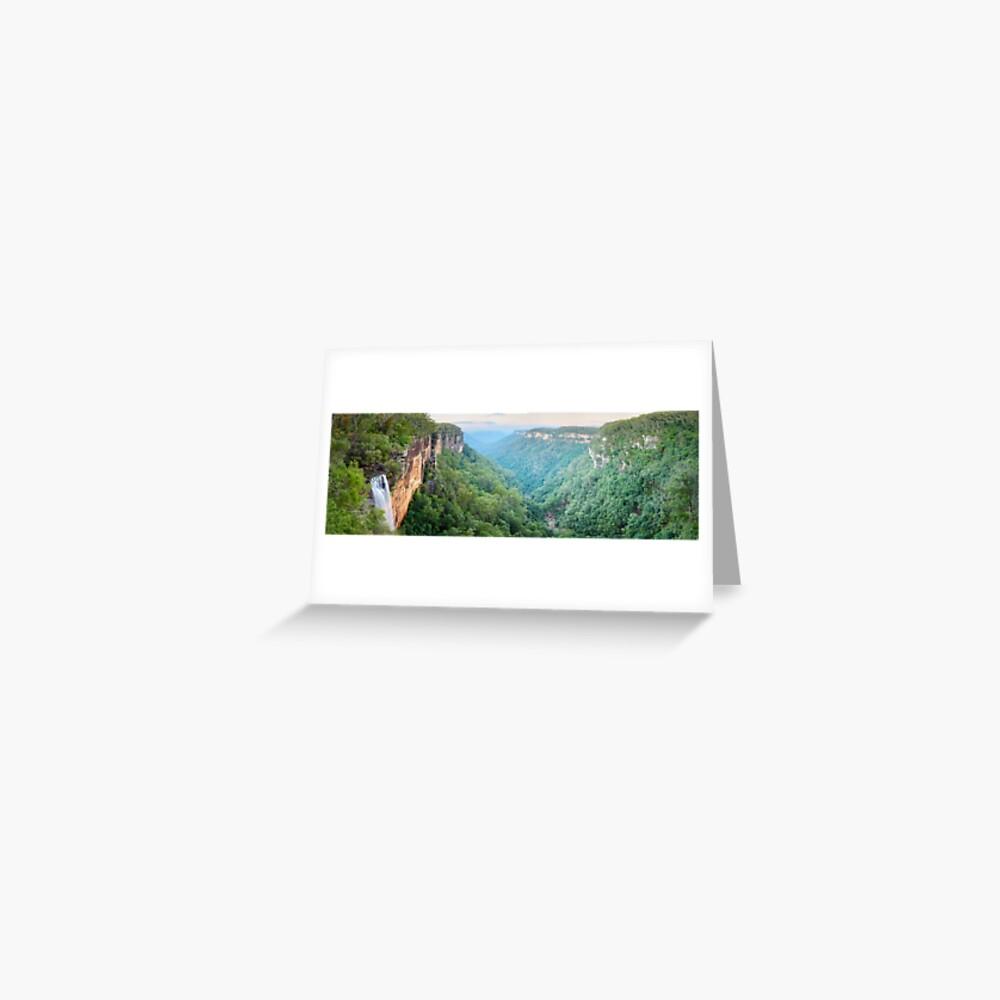 Fitzroy Falls, Morton National Park, New South Wales, Australia Greeting Card