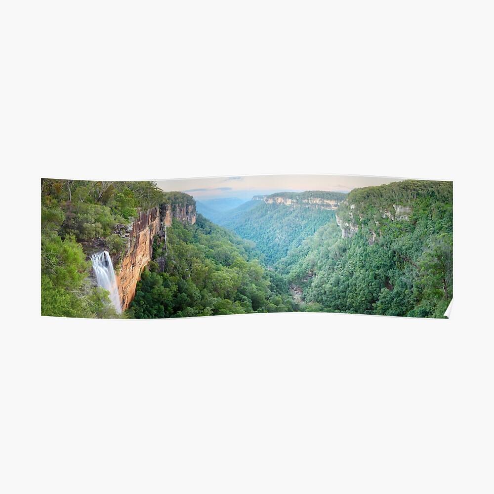 Fitzroy Falls, Morton National Park, New South Wales, Australia Poster