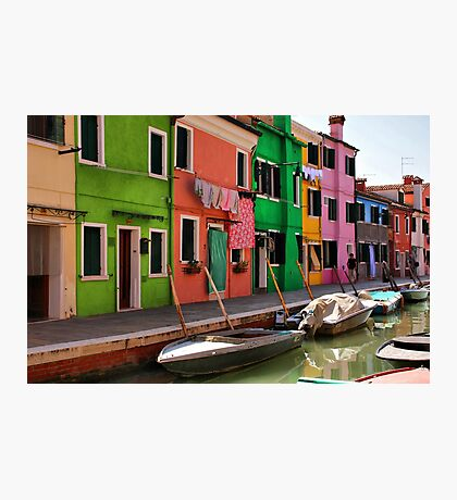 A Day in Burano Photographic Print