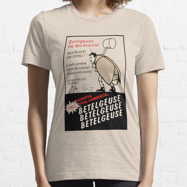 Beetlejuice Anuncio Camiseta esencial