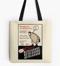 Beetlejuice Advertisement Tote Bag