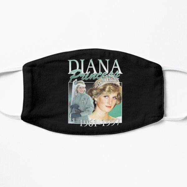 Diana Princess Vintage Style, Princess Diana 1961-1997 Vintage Style Shirt Flat Mask