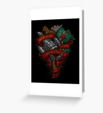 I Aim To Misbehave! Greeting Card
