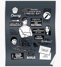 Horrible Quotes Poster