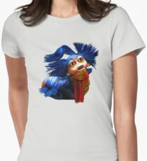 Ello Worm Painting - Labyrinth Movie  Womens Fitted T-Shirt