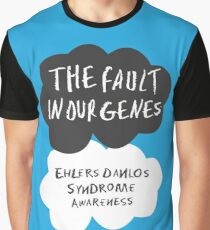 The Fault In Our Genes, Ehlers Danlos Syndrome Awareness Graphic T-Shirt