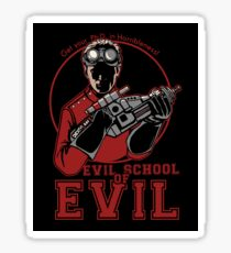 Dr. Horrible's Evil School of Evil Sticker