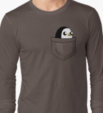 There's an evil penguin in my pocket! Long Sleeve T-Shirt
