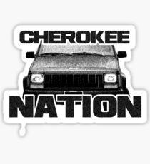 Jeep Cherokee Nation Sticker