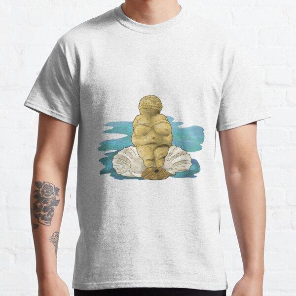 The Birth of Venus... von Willendorf Classic T-Shirt