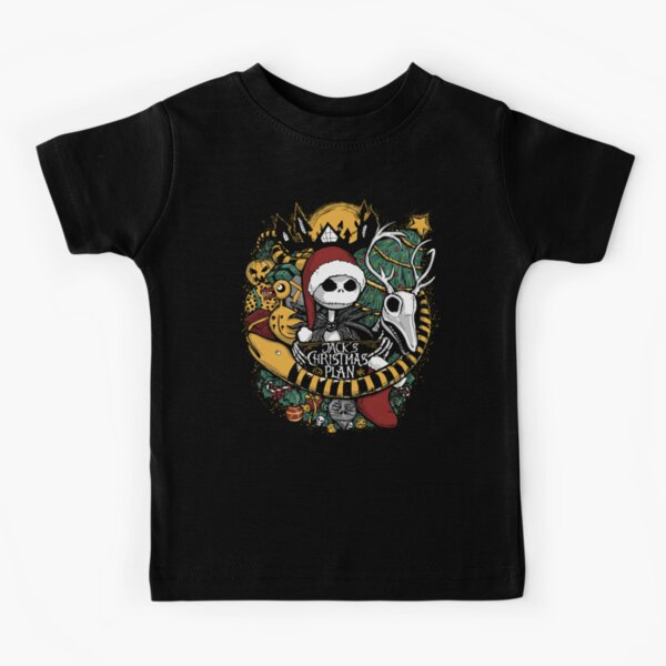 Jack's Christmas Plan Kids T-Shirt