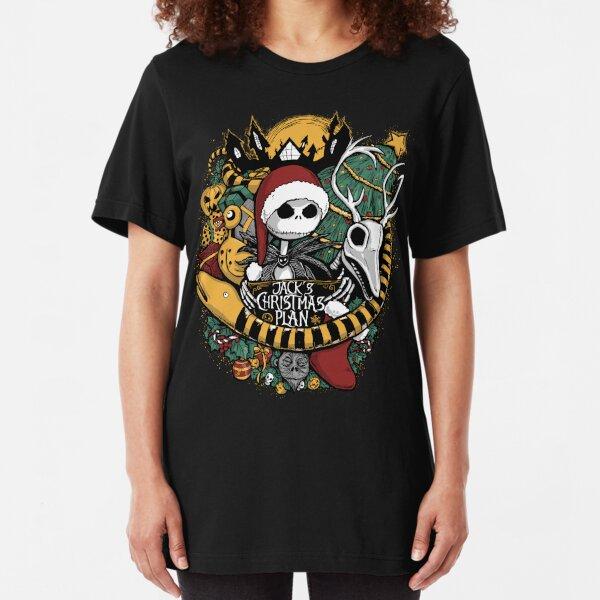 Jack's Christmas Plan Slim Fit T-Shirt