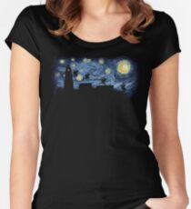 Starry Fight Women's Fitted Scoop T-Shirt