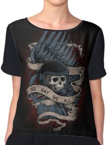 So Say We All Women's Chiffon Top