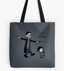 Leon and Mathilda Tote Bag