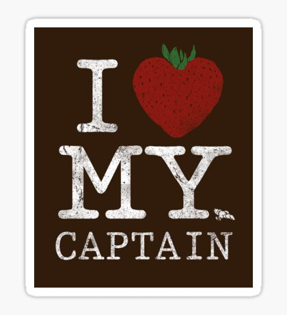 I Love My Captain - STICKER Sticker