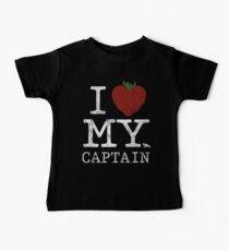 I Love My Captain Baby Tee