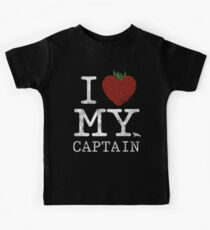 I Love My Captain Kids Tee