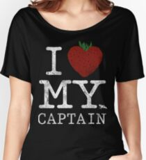I Love My Captain Women's Relaxed Fit T-Shirt