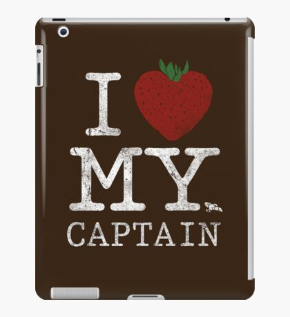 I Love My Captain iPad Case/Skin