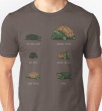 Kenne deine Schildkröten Slim Fit T-Shirt