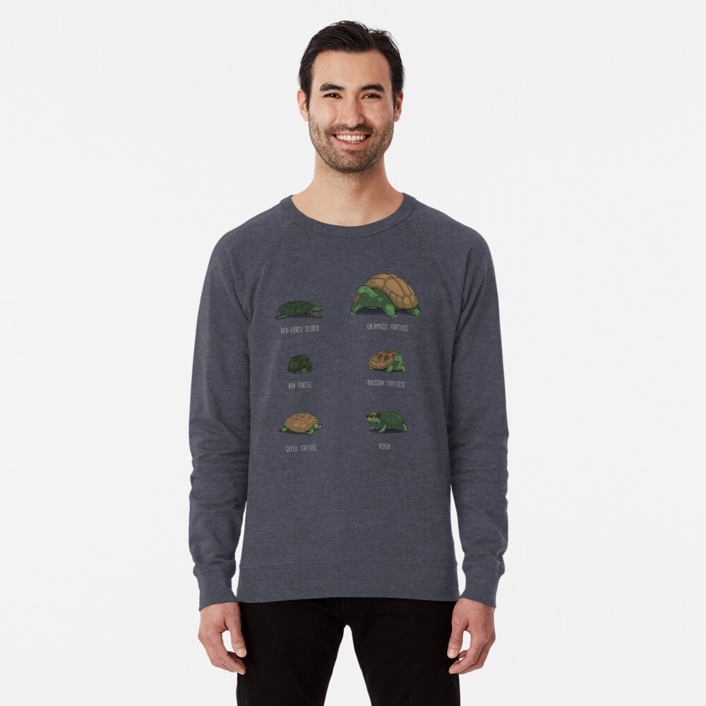 Know Your Turtles Lightweight Sweatshirt