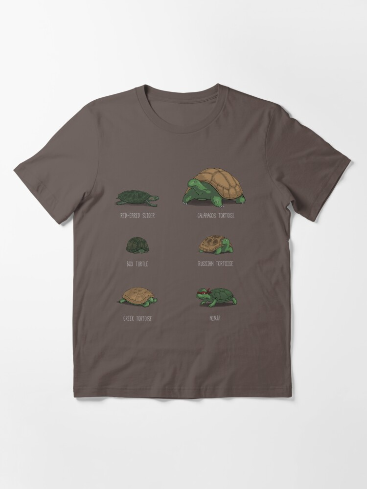 Alternate view of Know Your Turtles Essential T-Shirt