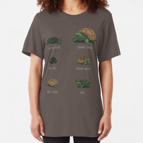 Know Your Turtles Slim Fit T-Shirt