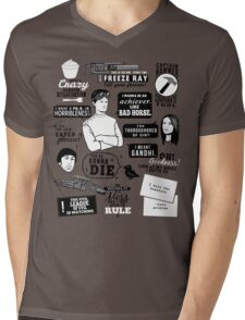 Horrible Quotes Mens V-Neck T-Shirt
