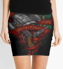 I Aim To Misbehave Mini Skirt