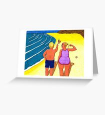 HONEY TIMES DO REALLY CHANGE! Greeting Card