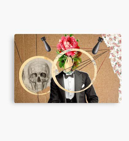 Mr. Flower Canvas Print