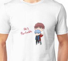 He's portable Unisex T-Shirt
